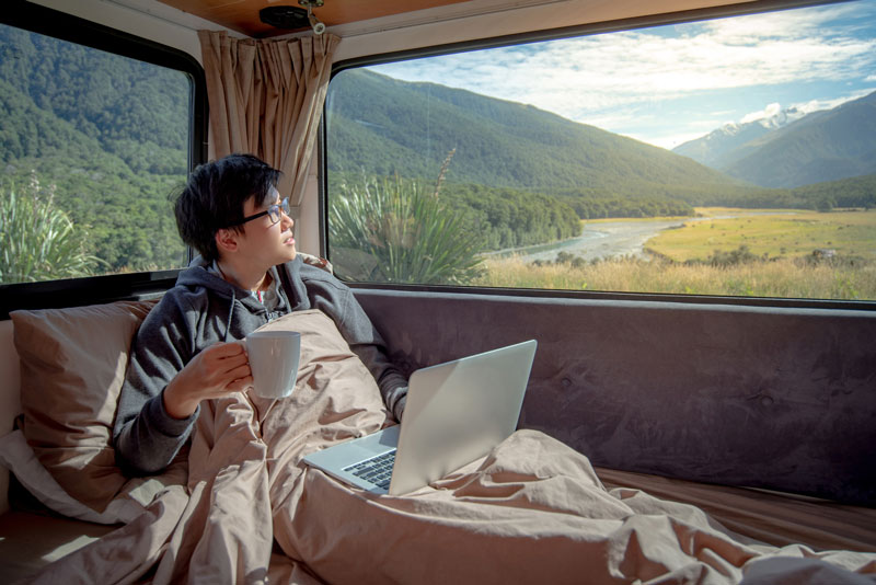 5 Best practices for working while traveling